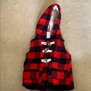 Winter toddler vest